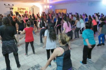 Hubo Zumba en Cutral Co